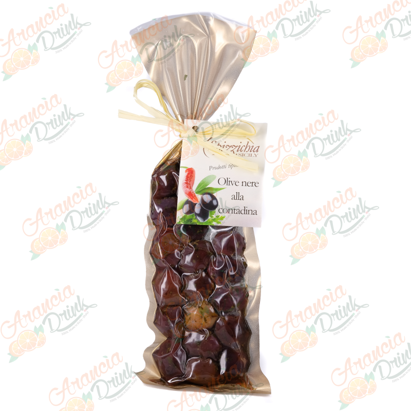 Olive nere alla contadina