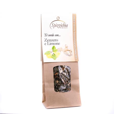 Tè verde con Zenzero e Limone